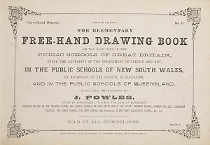 The Sydney drawing book, composed of little scraps for little hands : in a progressive course of easy shaded studies / by J. Fowles.