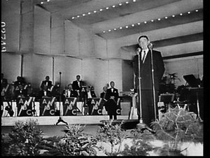 Australia Day 1957 concert at Sydney Athletic Field