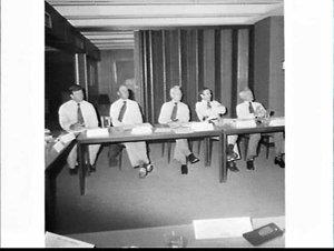 Dalgety board (?) meeting, Sydney
