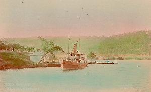 [Scenes of Hawkesbury River, N.S.W.]