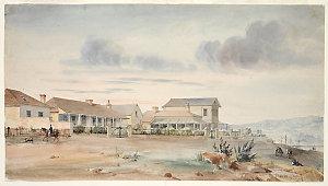 Charles Rodius watercolours of Sydney, 1831