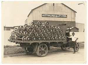 Series 04: Photographs of trucks and vans, ca. 1920-1980 : Graham Brothers (Dodge) and International Harvester
