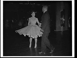 Rock-and-roll at a ball at the Empress Ballroom