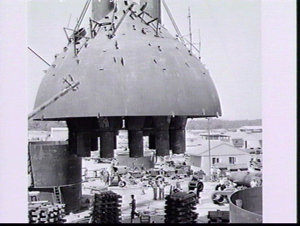 Construction of Kurnell oil refinery
