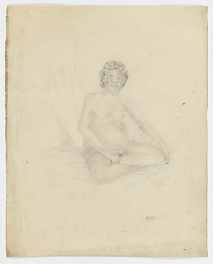 Item 02: A Native of the interior of New South Wales, [1801?] / by John William Lewin