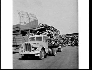 Simsmetal car-crushing and scrap metal plant, Auburn