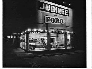 Jubilee Motors Ford showroom, Five Dock