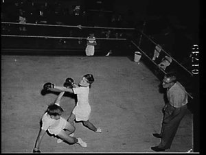 St. Andrew's Cathedral School boxing night in the Chapter House of the Cathedral