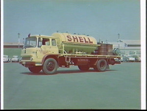 Shell refuelling tanker for the Snowy Mountains Scheme, Mascot