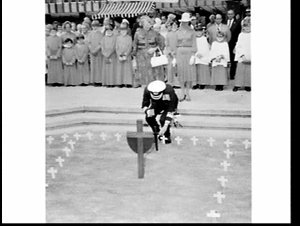 War Widows Guild Field of Crosses Appeal for Anzac Day 1977, St. Andrew's Cathedral