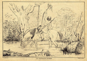 Collection of lithographs by George Hamilton of Australian bush life