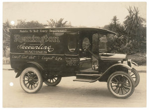 Series 03: Photographs of trucks and vans, ca. 1920-1980 : BMC, Chevrolet, Clydesdale, Commer, De Dion, De Soto, Dennis, Dodge, Federal, Foden, Ford, and Garford