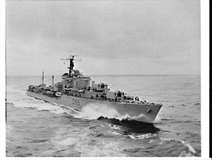 RAN, RNZN and RN exercise, Tasman Sea and Auckland: HMAS Anzac