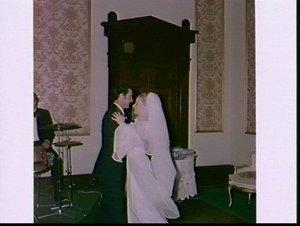 McCullum (McCallum ?) wedding 1972, Sydney