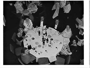 Annual ball, ICIANZ (Imperial Chemical Industries), Wentworth Hotel, 1960