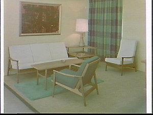 Parker Furniture exhibit, Furniture Exhibition 1965, Sydney Showground
