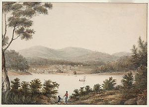 Series 01: Australian paintings by J.W. Lewin, G.P. Harris, G.W. Evans and others, 1796-1809