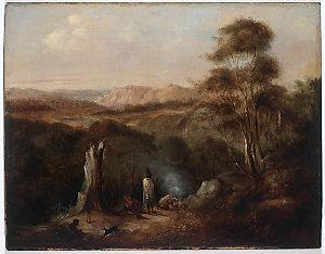 Scene on the South Coast, 1841 / Conrad Martens