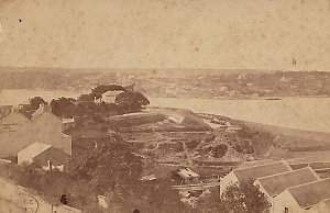 [View of Dawes Point, 1867-1877] / B.C. Boake photographer, 330 George St, Sydney