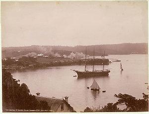 Long Nose Point, Balmain, Sydney Harbour, N.S.W. / H. King Photo. Sydney