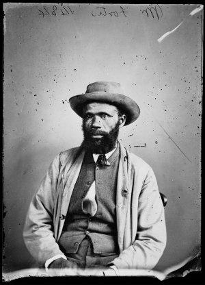 Portrait of Aboriginal man Mr Fortis [?]