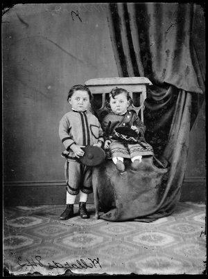 Two Willard children