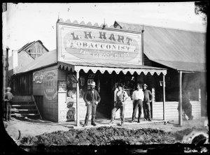 L.H. Hart, tobacconist, Hill End