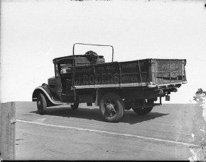"Penfold's Wines trucks [sic, truck labelled ""J. Rogers""]"