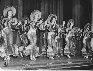 """Opening night, """"Hollywood Hotel"""" revue (taken for Fuller's Theatres Ltd)"""