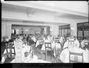 A section of the dining room, Wentworth Hotel (Brewster & Manderson, architects)