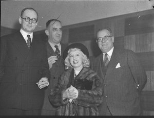 Cocktail party to Miss Violet Carlson