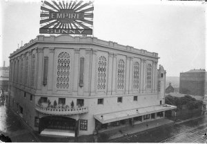 """""""Sunny"""" (opening show, 1927), (followed by the """"Student Prince""""), Empire Theatre"""