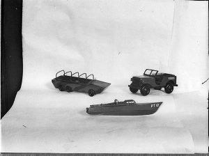 Model vehicles; Norman Lyons