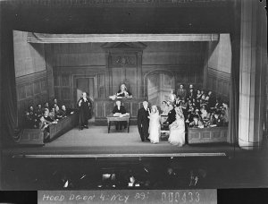 """Gilbert & Sullivan Society production of """"Trial by Jury"""""""