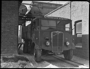 N.Ormsby & Sons' lime truck from Portland