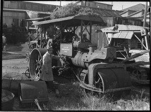 Newcastle City Council steamroller