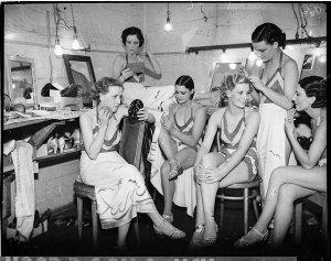 "Chorus girls: ""Nice Goings On"", Theatre Royal"