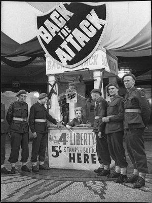 War loans displays, State Theatre