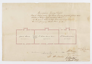 TAS PAPERS 193: Tasmania. Marriage records, 1803-1851, plans of probation stations, 1842-1847, and other official papers 1817-1883