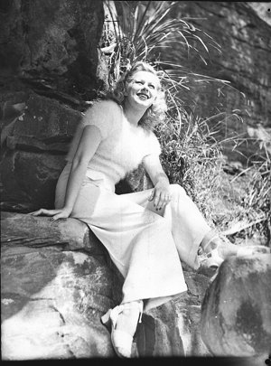 Mary Dees, co-star of The Women, at Nielsen Park