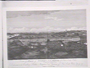 3rd part of view of Sydney from Dawes Pt., by J. Eyre.