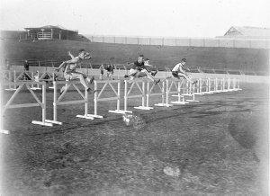 120 yards hurdles