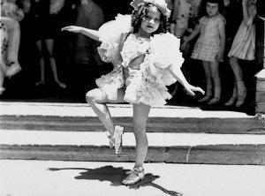 Tap-dancer Shirley Sloss at the Rail & Tramway eisteddfod