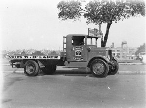 One of Tooth's Albion Trucks