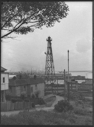 Navigation light tower, off Church Street, The Hill