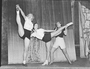 "Rehearsal ""Swing Along"" at Theatre Royal (taken for J.C. Williamson)"