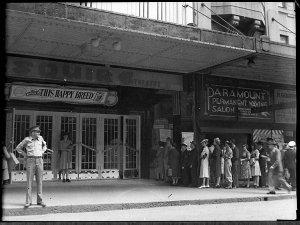 Esquire Theatre (taken for Mr Stewart Coad, Fox Films)