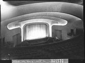 The auditorium, Minerva Theatre (taken for Building Publishing Co)