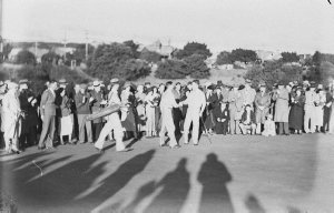 Championship golf at Rose Bay.  (Royal Sydney)