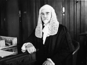 Portrait of the Chief Justice Sir Gavin Duffy (?)